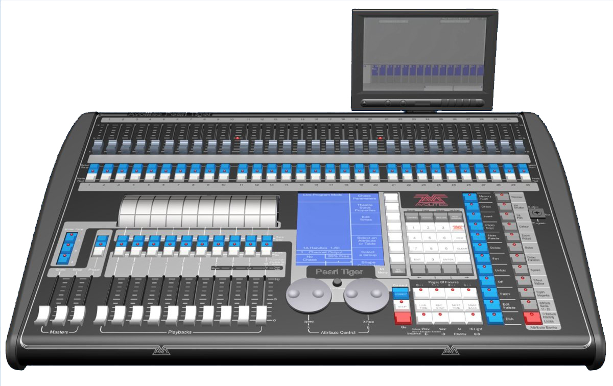 fluxity lighting intelligent lighting consoles